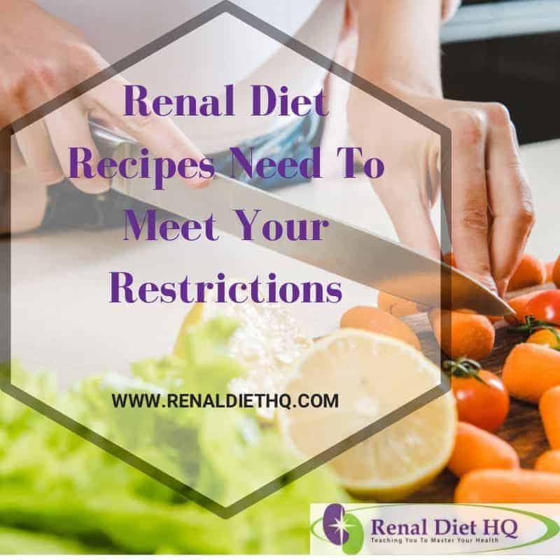 Renal Diet Recipes