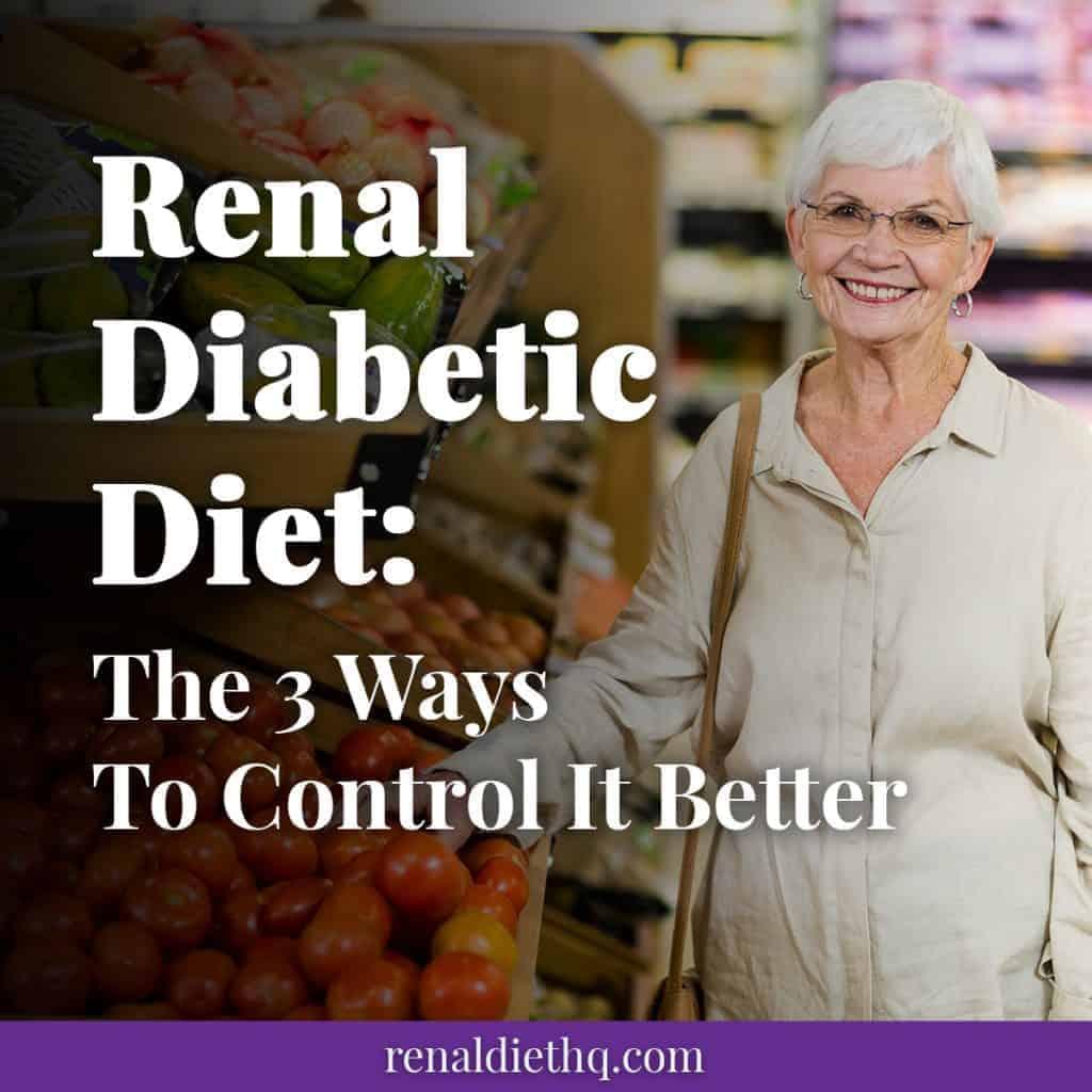 renal diabetic diet