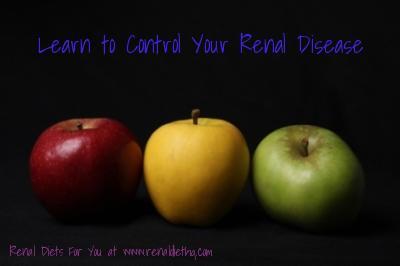control your renal disease