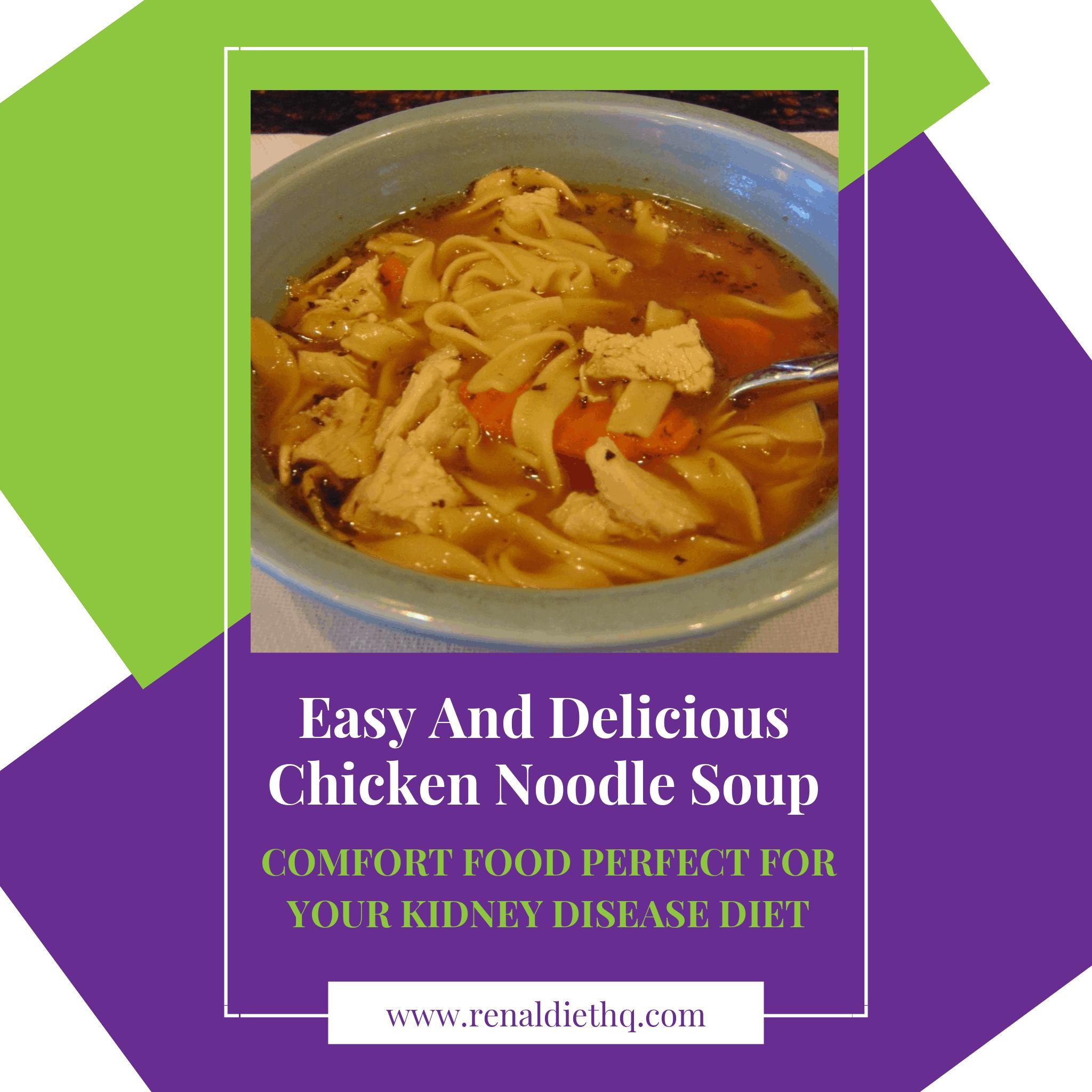 Chicken Noodle Soup low sodium