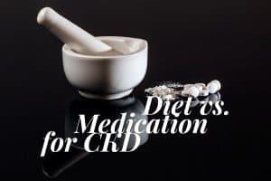 diet vs medication